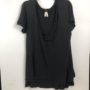 Free People layered T-shirt SZ S